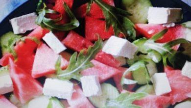 Photo of Salata od lubenice, feta i rukole