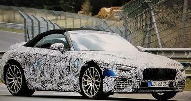 Photo of Mercedes-AMG SL (2021) gubi deo maskirne odeće