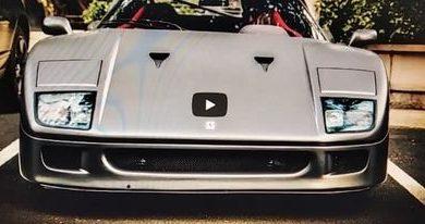 Photo of Šta misliti o ovom mat sivom Ferrariju F40?