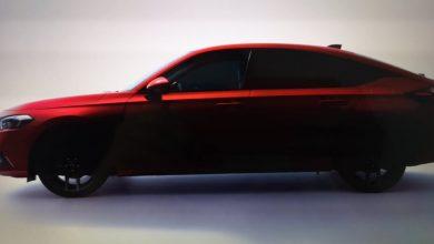 Photo of Otvor Honda Civic iz 2022. godine predstavljen pre 24. juna 2021. godine