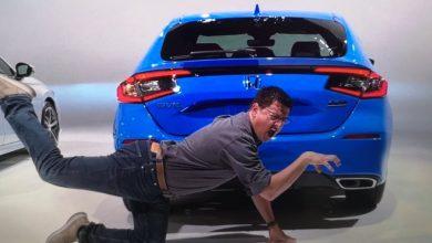 Photo of Otvor Honda Civic iz 2022. godine pojavio se na najčudnijem procurjelom imidžu na svetu