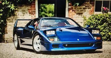 Photo of Ferrari F40 – Rekordna cena za ovu plavu kopiju na aukciji!