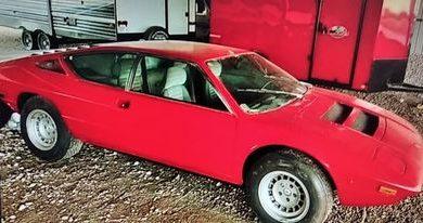 Photo of Ovaj veoma redak napušteni Lamborghini Urraco je na prodaju